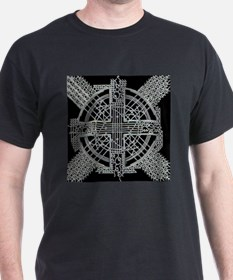 Lines Silver T-Shirt