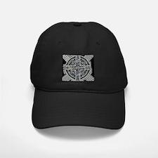 Lines Silver Baseball Hat