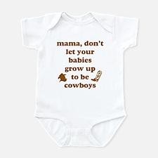 Grow Up Cowboy Infant Bodysuit