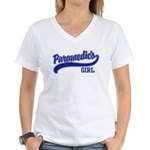 Paramedic's Girl Women's V-Neck T-Shirt
