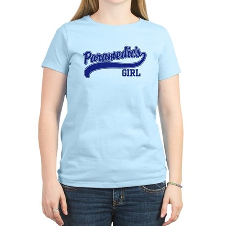 Paramedic's Girl Women's Light T-Shirt