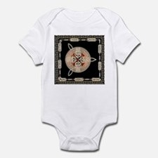 Three in gold Infant Bodysuit