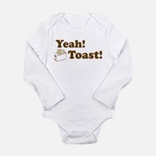 Yeah! Toast! Infant Creeper Body Suit