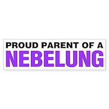 Proud Parent of a Nebelung Bumper Sticker