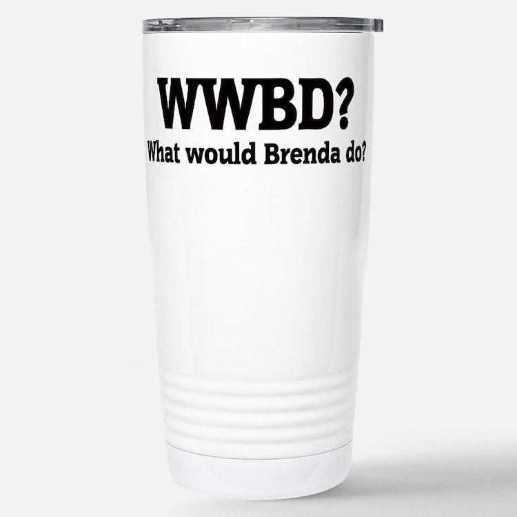 Cute Wwbd Travel Mug