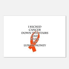 Cancer Bully (Orange Ribbon) Postcards (Package of