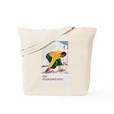 Ski Purgatory Tote Bag