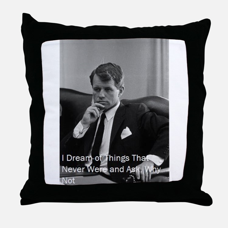 Cute Historical figures Throw Pillow