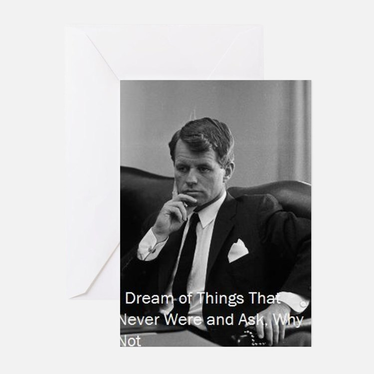 Cute Robert f kennedy Greeting Cards (Pk of 20)