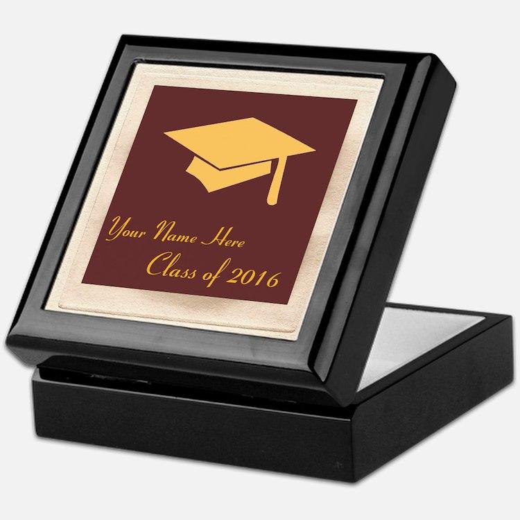 Cute Personalization graduation Keepsake Box