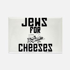 Jews for Cheeses Rectangle Magnet