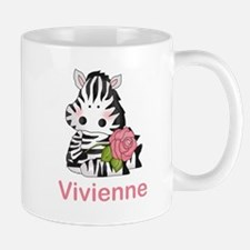 Vivienne's Zebra Rose Mug