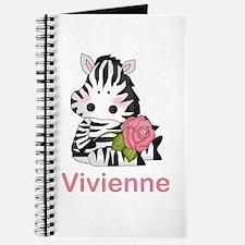Vivienne's Zebra Rose Journal