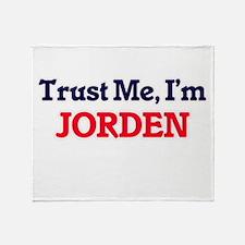 Trust Me, I'm Jorden Throw Blanket