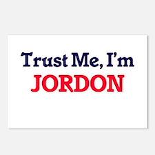 Trust Me, I'm Jordon Postcards (Package of 8)