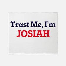 Trust Me, I'm Josiah Throw Blanket