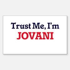 Trust Me, I'm Jovani Decal