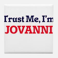 Trust Me, I'm Jovanni Tile Coaster