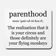 Definition of Parenthood Mousepad