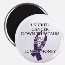 Cancer Bully (Purple Ribbon) Magnets