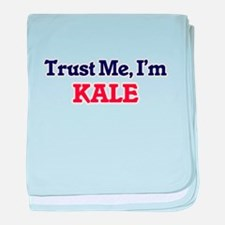 Trust Me, I'm Kale baby blanket