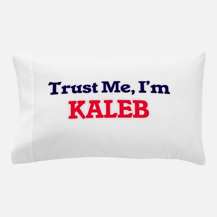 Trust Me, I'm Kaleb Pillow Case