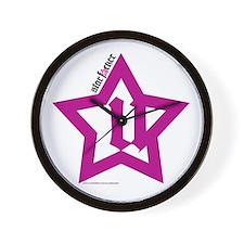 GlamRocked Wall Clock