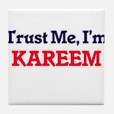 Trust Me, I'm Kareem Tile Coaster
