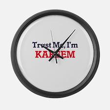 Trust Me, I'm Kareem Large Wall Clock