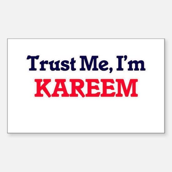 Trust Me, I'm Kareem Decal