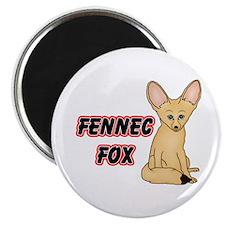 Cartoon Fennec Fox Magnet