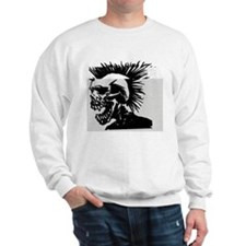 Destroyed Skull Sweatshirt