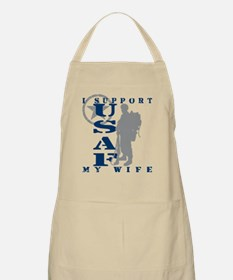 I Support My Wife 2 - USAF BBQ Apron