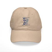 I Support My Wife 2 - USAF Baseball Cap