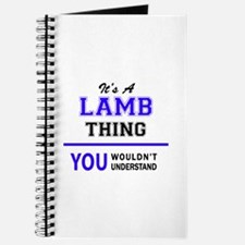 It's LAMB thing, you wouldn't understand Journal