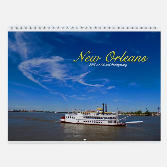 Images Of New Orleans Wall Calendar