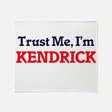 Trust Me, I'm Kendrick Throw Blanket