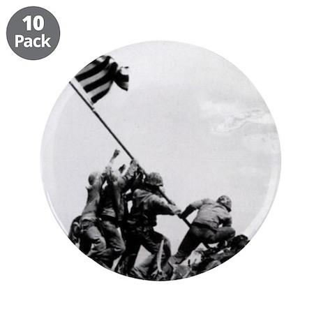 """Iwo Jima 3.5"""" Button (10 pack)"""