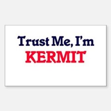 Trust Me, I'm Kermit Decal