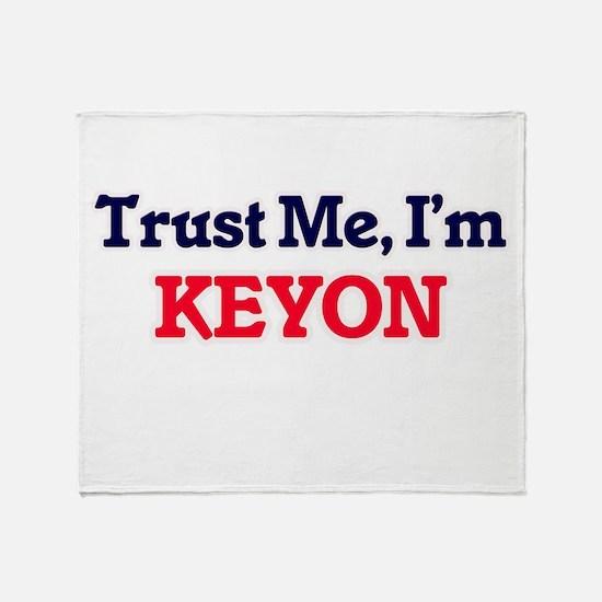 Trust Me, I'm Keyon Throw Blanket