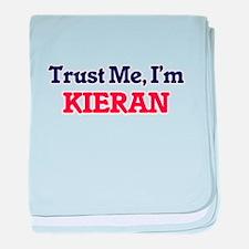 Trust Me, I'm Kieran baby blanket
