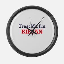Trust Me, I'm Kieran Large Wall Clock