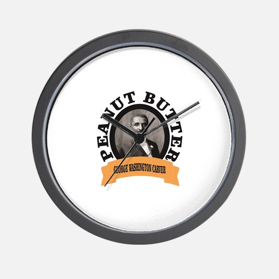 peanut butter Carver Wall Clock
