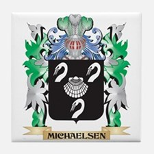 Michaelsen Coat of Arms - Family Cres Tile Coaster