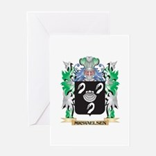 Michaelsen Coat of Arms - Family Cr Greeting Cards