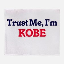 Trust Me, I'm Kobe Throw Blanket