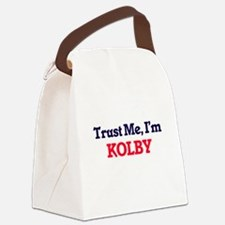 Trust Me, I'm Kolby Canvas Lunch Bag