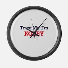 Trust Me, I'm Korey Large Wall Clock