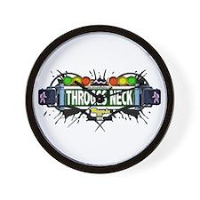 Throggs Neck (White) Wall Clock