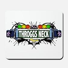 Throggs Neck (White) Mousepad